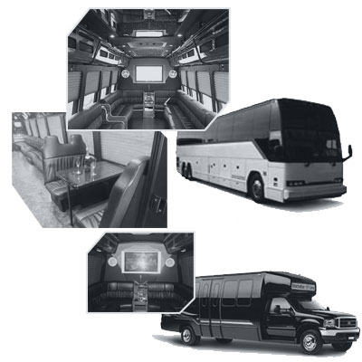 Party Bus rental and Limobus rental in Phoenix, AZ